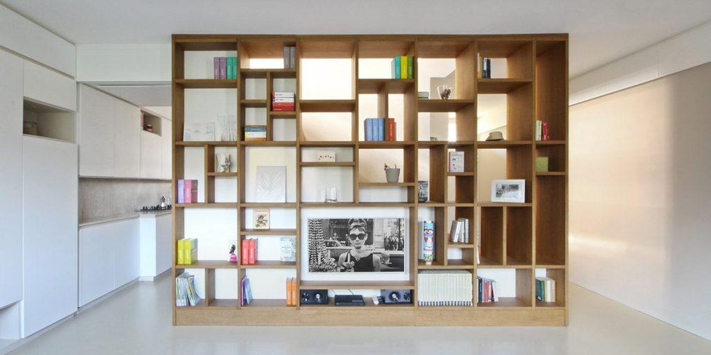libreria da parete - blog immobiliare