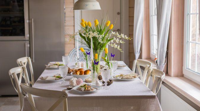 Evelin Sozzi Gestioni Immobiliari - come abbellire la tavola di Pasqua